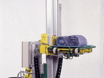 Automatische Bestückung eines Wäschelagers