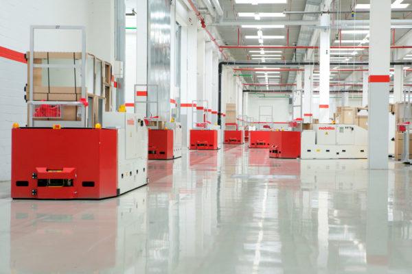 Bodentransportsystem BTSif für den Transport von Möbelstücken